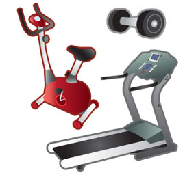 Recycle exercise equipment