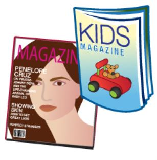 Recycle Books & Magazines