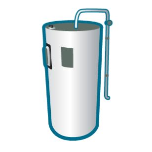 Recycle Hot Water Tank