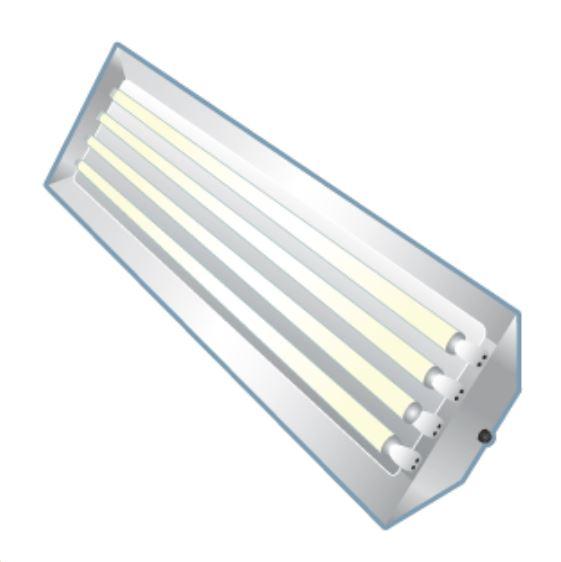 Recycle Fluorescent Fixture