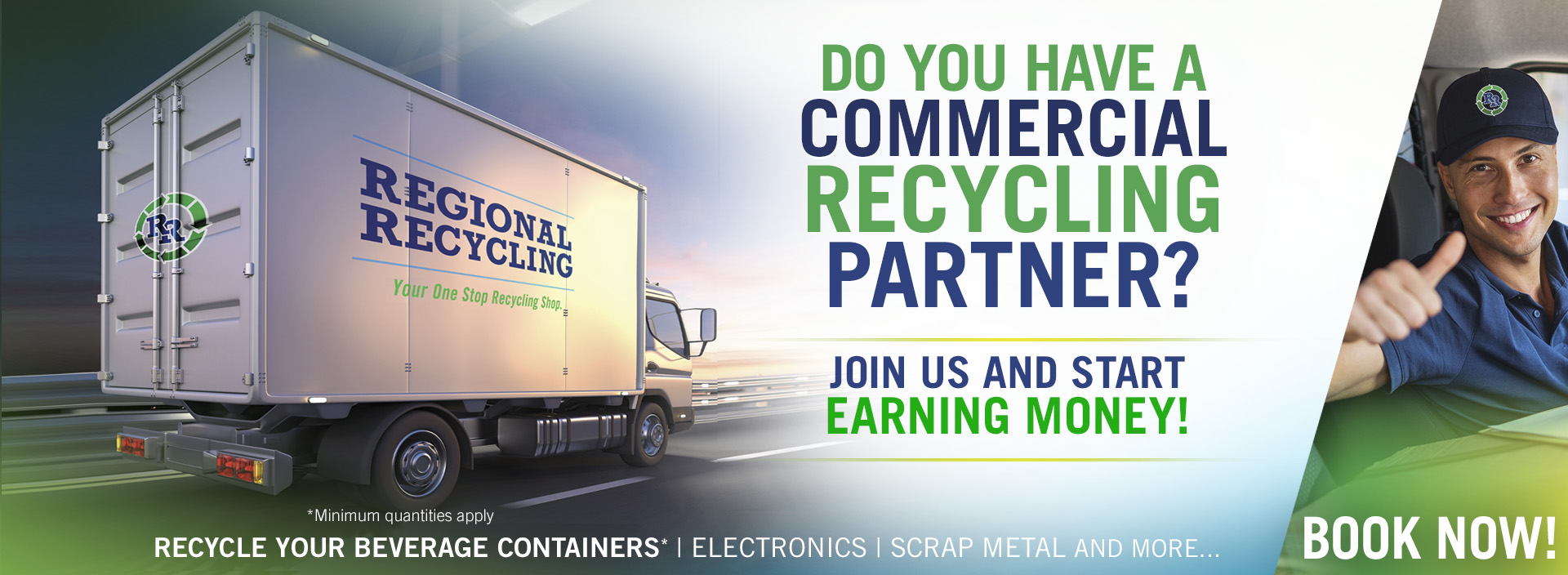 Business & Commercial Recycling Pickup Services